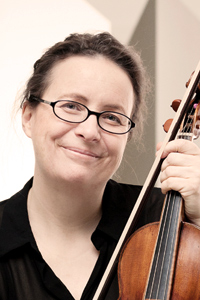Christine Busch, violin
